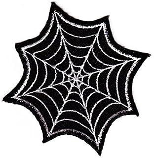 8 x 7,3 cm pink Spinnennetz Spiderman Comic Aufnäher // Bügelbild
