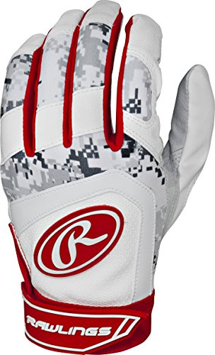 Rawlings  Youth Batting Gloves, Small, Scarlet (88 Youth Baseball Bat)