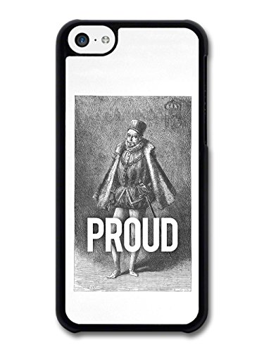 Funny Historical Illustration of Proud Pride Man case for iPhone 5C
