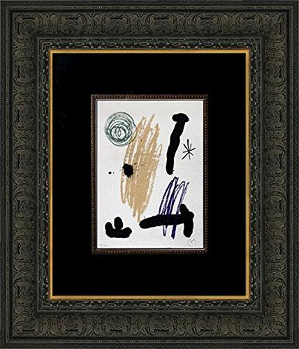 Miro Signed Lithograph - modernnow Joan Miro - Obra Inedita Recent