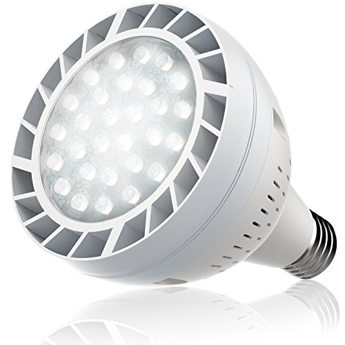Bonbo LED Pool Bulb White Light, 120V 50watt 6500k Daylight White Swimming Pool LED Light Bulb E26 Base 300-600w Traditional Bulb Replacement for Most Pentair Hayward Light Fixture