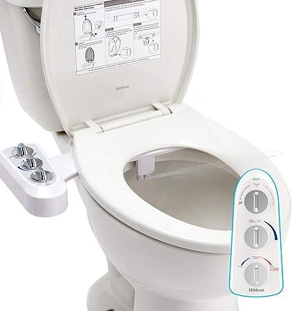 Universal Nozzle Cold Water Bidet Toilet Sprayer Washer Non-Electric Bathroom