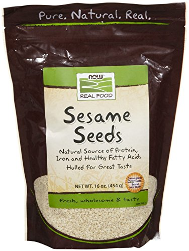 NOW Foods Sesame Seed Hulled, 1 lb by NOW Foods