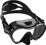 CRESSI Tauchmaske F1 Frameless,schwarz