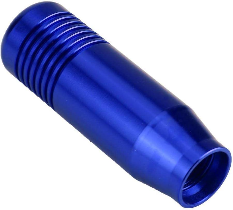 Colorful KIMISS Aluminum Alloy Car Manual Gear Shift Knob Handle Shifter Head 8.5cm(Black Blue Red Colorful)