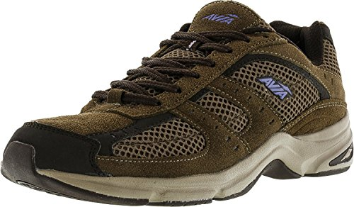 Country Walking Shoe - AVIA Women's Volante Country Walking Shoe,Shitake Brown/Espresso Brown/Violet Blaze/Stone Taupe,7 D US