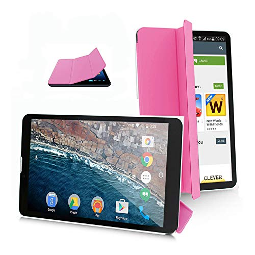 Indigi 7-inch Tablet PC/Phone - 3G GSM Unlocked - Free Smart Cover (Pink)