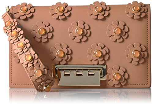 ZAC Zac Posen EARTHETTE LARGE CLUTCH GINGER, Ginger by ZAC Zac Posen