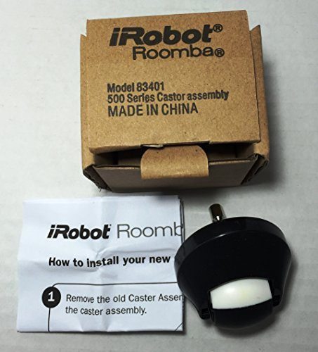 Genuine Authentic OEM Roomba 500 600 700 Series Front Wheel Caster 585 595 620 650 780 880 83401]()