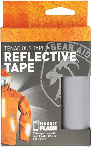 "Gear Aid Tenacious Tape Reflective Tape for Running and Cycling Gear, 3"" x 20"""