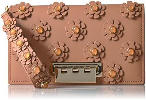 ZAC Zac Posen EARTHETTE LARGE CLUTCH GINGER
