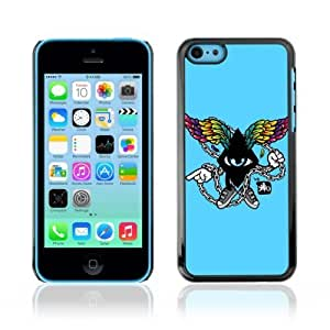 MMZ DIY PHONE CASEYOYOSHOP [Cool Abstract Wings] Apple iphone 5c Case