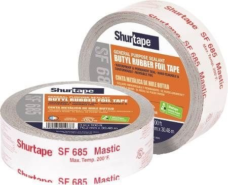 Shurtape SF-685/SI333 Shurflex Indoor/Outdoor Mastic On A Ro