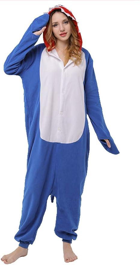 SXSHYUCO Invierno Kigurumi Pijamas Disfraz de Animal Halloween ...