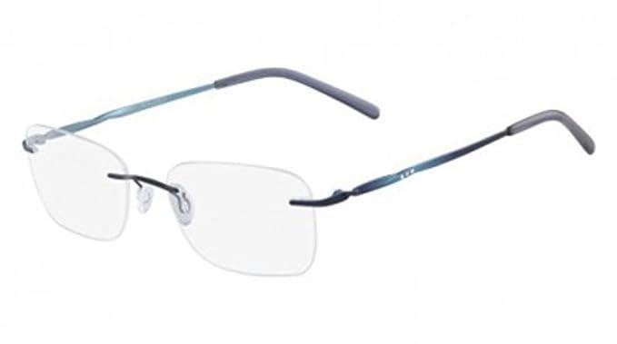 62ef9da004 Eyeglasses MARCHON AIRLOCK AL RADIANCE 434 SLATE BLUE at Amazon ...