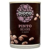Biona Organic Pinto Beans in Water (400g) - Pack of 6