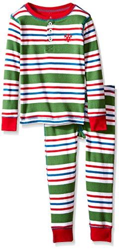 Hatley Little Henley Holiday Stripes