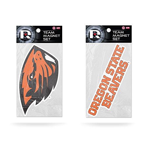 (Rico Industries NCAA Oregon State Beavers 2-Pack Die Cut Team Logo Magnet)