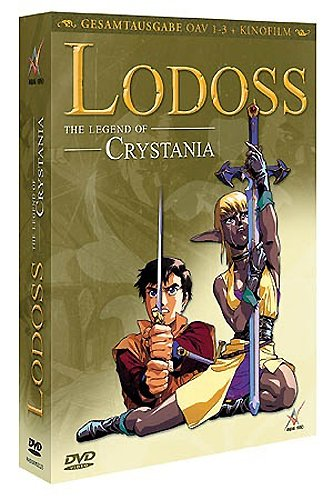 Lodoss - The Legend of Crystania OVA 1-3 + Kinofilm (OmU) [2 DVDs]