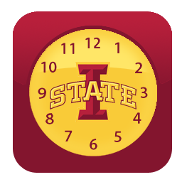 Amazon Com Iowa State Cyclones Clock Widget Appstore For Android