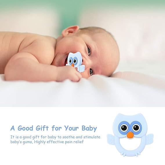 Amazon.com: Surray Juguetes para dentición de bebé, mordedor ...