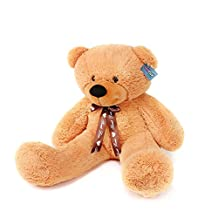Joyfay® 100cm Giant Teddy Bear 39 Brown Big Teddy Bear XXL Extra Large Plush Bear Toy Best Gift for Birthday Christmas Valentine Anniversary by JOYFAY