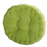 #1: Outdoor Round Seat Cushions EPE Cotton Filled Boosted Cushion Indoor Chair Cushions for Home Office kitchen (Diameter17.72 inch)