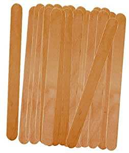 Prepworks by Progressive Wood Freezer Pop Sticks - 50 Count