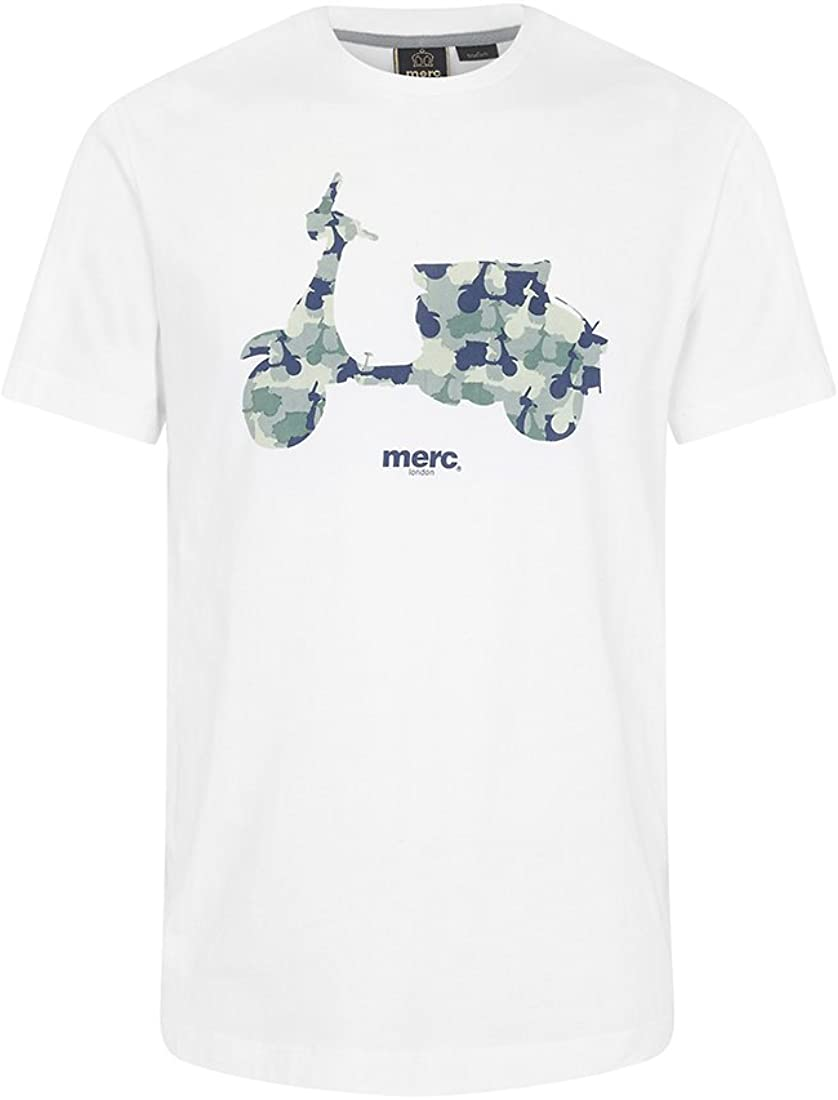 Merc Clothing - Camiseta - para Hombre Blanco Off White XL: Amazon.es: Ropa y accesorios