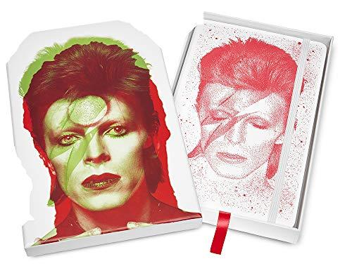 Moleskine, Cuaderno David Bowie en Caja de Colección con Funda Roja, Edición Limitada, Hojas de Rayas, Tapa Dura, Tamaño Grande 13 x 21 cm, Cuaderno ...