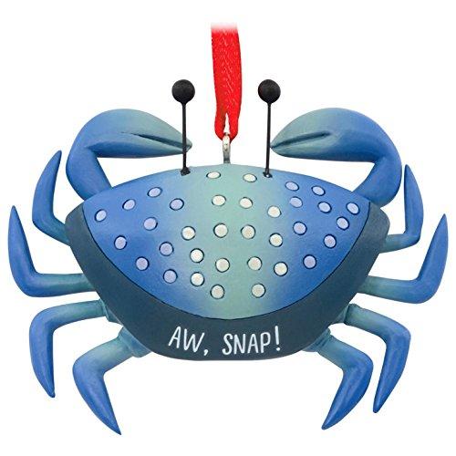 Aw, Snap Blue Crab Hallmark Ornament Animals & Nature by Hallmark