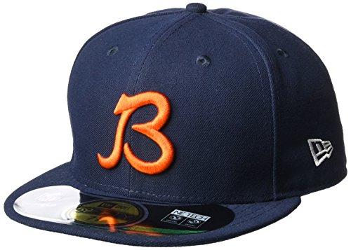 デクリメント在庫非アクティブNew Era 59 Fifty Fitted NFL帽子Chicago Bears
