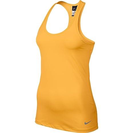 8f76d620851b0 Nike Women s Dri-Fit  Pro Hypercool Tank Top Atomic Mango Cool Grey XL