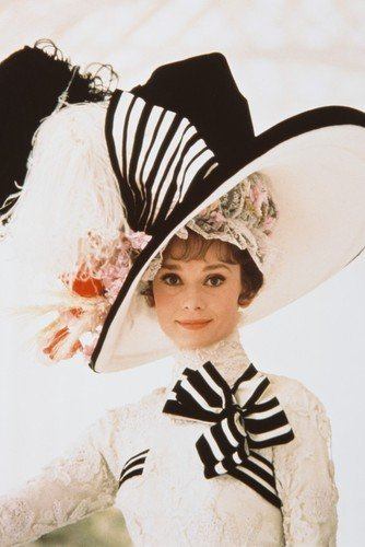Audrey Hepburn My Fair Lady Glamour 11x17 Mini Poster