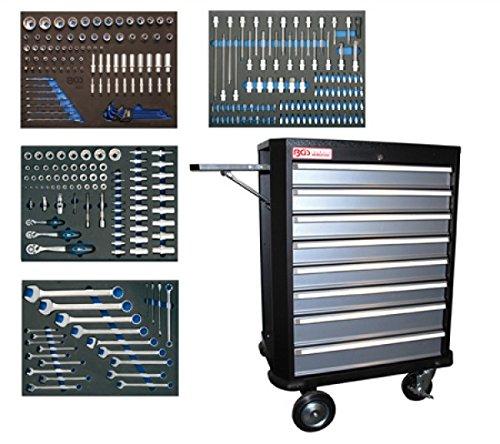 Werkstattwagen BGS 4100 komplett mit 293 Werkzeugen