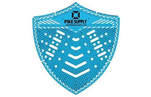 Splatter Shield by Pike Supply - Deodorize Restroom, Reduce Mess, and Save with this Deodorizing No-Splash Urinal Screen - 10 Month Supply ()