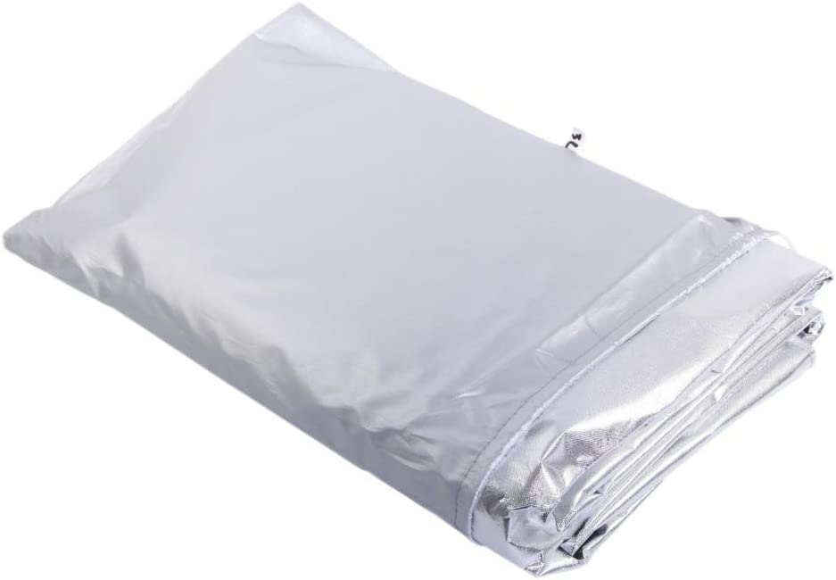 EXLIGHT Weatherproof Trading Polyester Car Snow Cover with Storage Pouch L Pack of 1