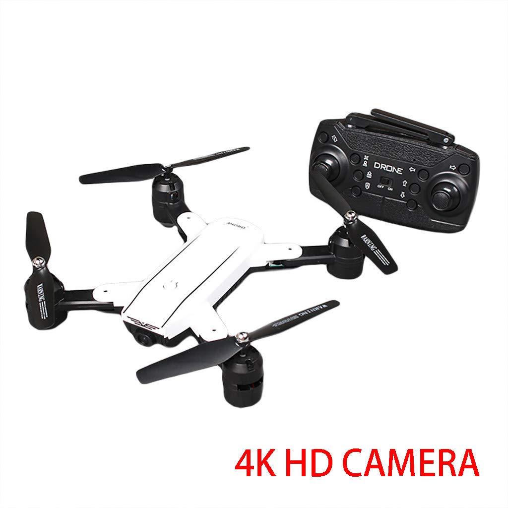 Camera Drone, NDGDA 4K HD Camera 2.4Ghz 4CH WiFi FPV - Optical Flow Dual Camera Quadcopter Drone