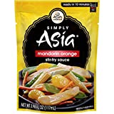 Simply Asia Mandarin Orange Stir Fry Sauce, 3.98 fl oz (Pack of 6)