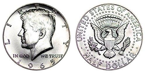 Half Dollar Coin Values - 1965 Kennedy SMS 40% Silver Half Dollar