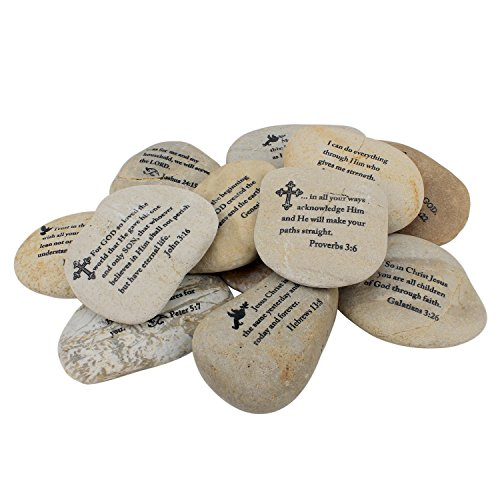 Scripture Stone (Stonebriar Twelve Large Scripture Rocks)
