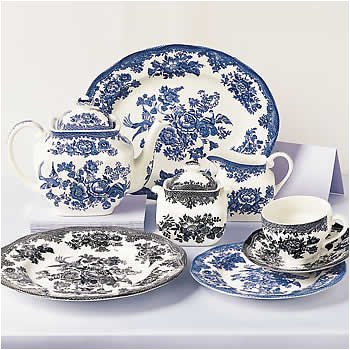 Johnson Brothers Asiatic Pheasant Blue Salad Plate