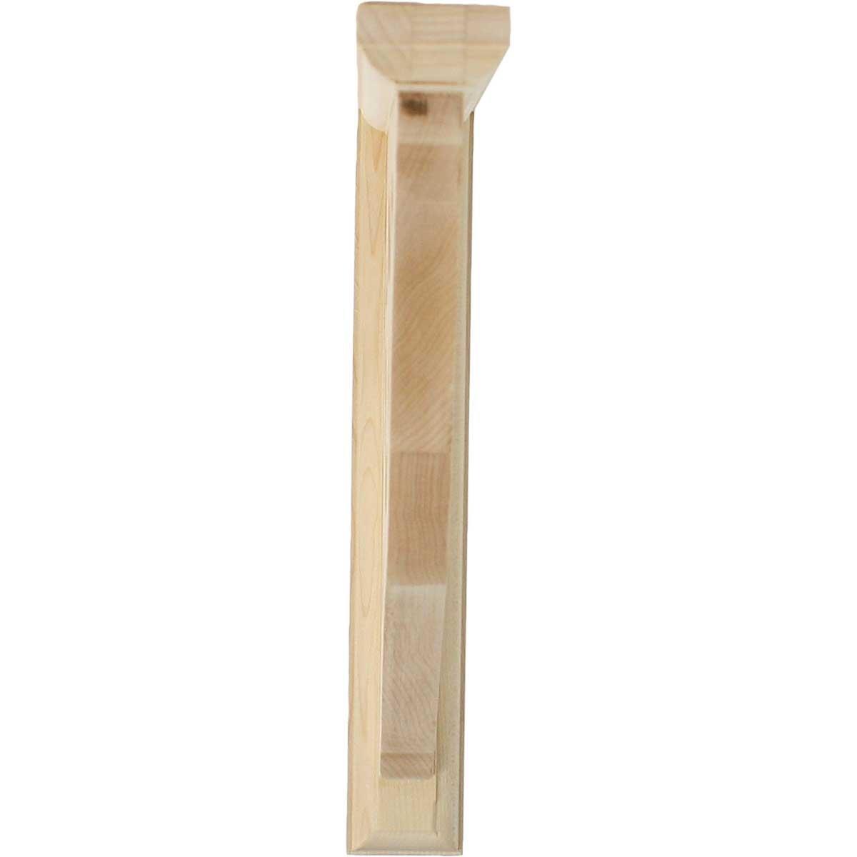 Ekena Millwork BKT01X10X10AURO-CASE-6 1 2 inch W x 10 inch D x 10 inch H Austin Bracket 6-Pack Red Oak ,