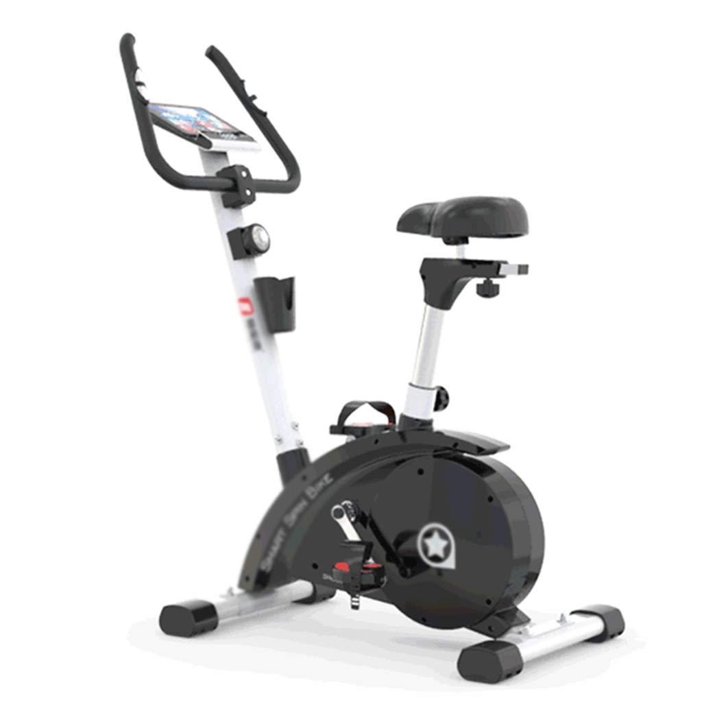 磁気エアロバイク スポーツバイク ホームフィットネス機器 ペダルミュートエアロバイク 屋内トレーナー、無電源 (Color : Black, Size : 83*50*125cm) 83*50*125cm Black B07QRSNW6W