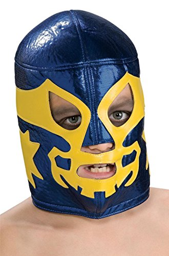 [Mememall Fashion Men Nacho Libre Mexican Wrestler Costume Mask] (Childrens Nacho Libre Costume)