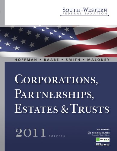 l Taxation 2011: Corporations, Partnerships, Estates and Trusts (with H&R Block @ Home Tax Preparation Software CD-ROM, RIA ... Printed Access Card) (Available Titles Aplia) ()