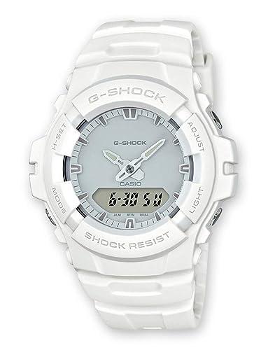 Casio Reloj Analogico-Digital para Hombre de Cuarzo con Correa en Resina G-100CU-7AER: Amazon.es: Relojes