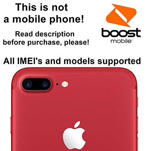 Boost Mobile USA Unlocking Service for iPhone 7, 7 Plus, 6s, 6s Plus, 6, 6 Plus, SE, 5s, 5c, 5, 4s Models - Make Your Device More Useful Than Before - Choose Any Carrier at Your Own at Any Time You Need - No More Suffering with Locked Devices - Free Yourself and Enjoy Your Freedom Like Never Before!