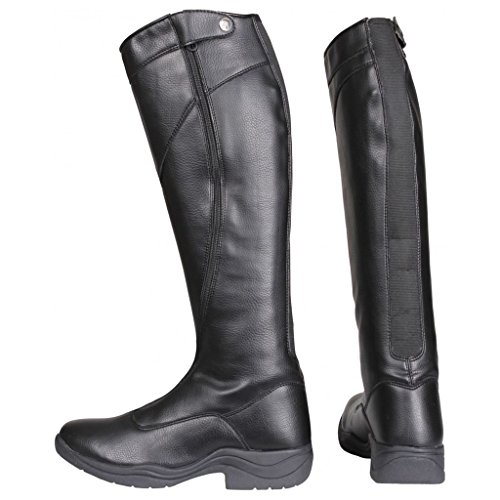 Horka Junior Thermo Riley Elastic Zip Holder Rubber Sole Horse Riding Boots