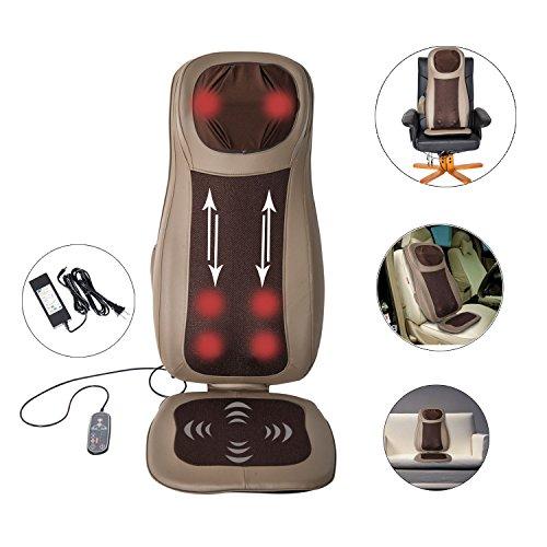 GHP-48W-Khaki-Neck-Back-Shoulder-Thigh-Massager-Massage-Cushion-Heat-kneading-Vibrating-Seat
